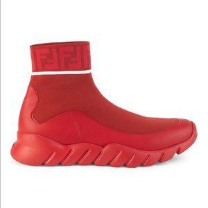 Mens Fendi Sock sneakers trainers